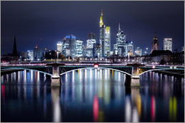 Kristian Sauer - Frankfurt Skyline night