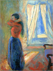 Edvard Munch - cook woman in