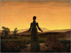 Caspar David Friedrich - Woman in the morning sun