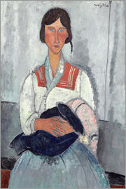Amedeo Modigliani - Woman with baby