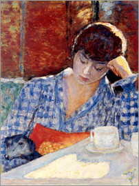 Pierre Bonnard - Woman with a dog