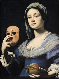Lorenzo Lippi - Woman with a Mask