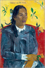 Paul Gauguin - Woman with a Gardenia