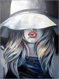 Passey - Woman with hat