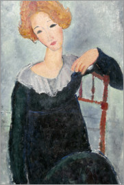 Amedeo Modigliani - Woman with Red Hair
