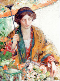 Richard Edward Miller - Woman with Parasol