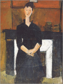 Amedeo Modigliani - Woman Seated by a Fireplace