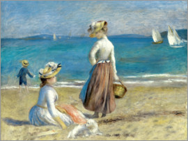 Pierre-Auguste Renoir - Figures on the Beach