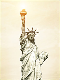 Liberty Statue in New York, USA