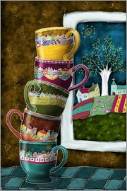 Heike Langenkamp - Happy Coffee Mug