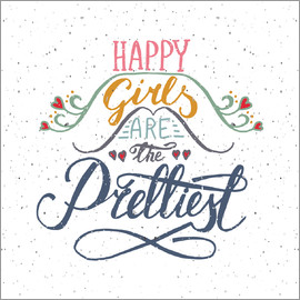 Typobox - Happy girls are the prettiest
