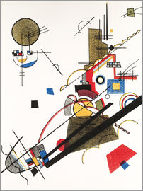 Wassily Kandinsky - Happy Ascent
