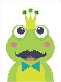Jaysanstudio - Frog with mustache