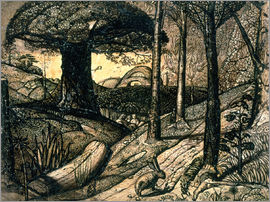 Samuel Palmer - Early Morning, 1825