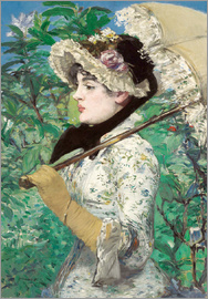 Edouard Manet - Spring (Jeanne)