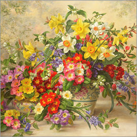 Albert Williams - Spring flowers and Poole Pottery II