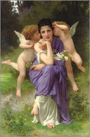William Adolphe Bouguereau - Chansons de Printemps, 1889