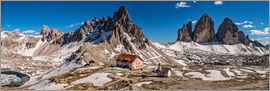 Achim Thomae - Spring panorama Three peaks
