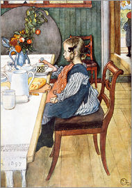Carl Larsson - Breakfast of Siebenschläferin