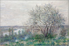 Claude Monet - Spring mood in Vetheuil