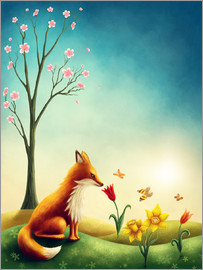 Elena Schweitzer - Fox in the spring