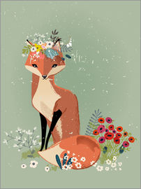Kidz Collection - Fox in the spring
