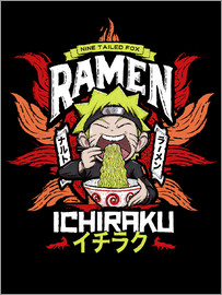 Barrett Biggers - Fox Ramen Naruto