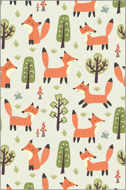 Kidz Collection - Foxes in the forest