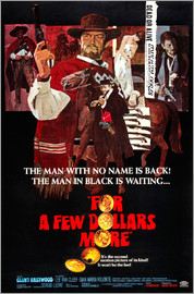 FOR A FEW DOLLARS MORE, (PER QUALCHE DOLLARO IN PIU), Lee Van Cleef, Clint Eastwood, Gian Maria Volo