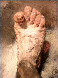 Adolph von Menzel - Foot of the artist