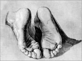 Albrecht Dürer - Feet of an apostle
