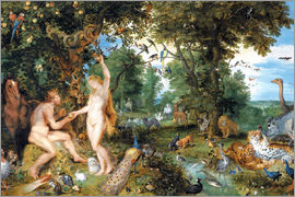 Jan Brueghel d.Ä. - Garden of Eden with the Fall of Man