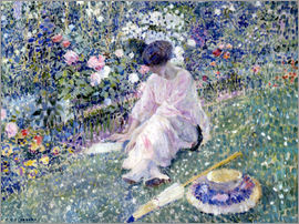 Frederick Carl Frieseke - Garden in June, 1911