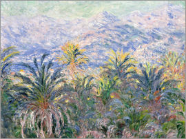 Claude Monet - Garden in Bordighera