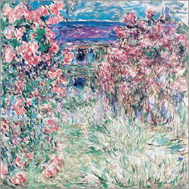 Claude Monet - The Garden at Giverny