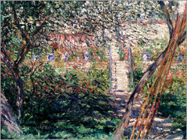 Claude Monet - Garden at Vetheuil