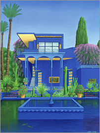 Larry Smart - Majorelle Gardens, Marrakech