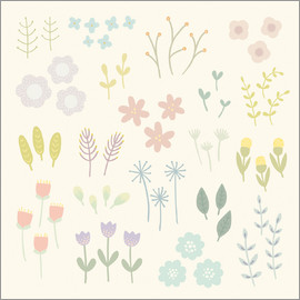 Kidz Collection - garden flowers