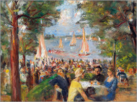 Max Liebermann - Beer garden on the Havel river