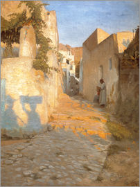 Peter Vilhelm Ilsted - Street Scene in Tunisia