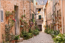 Christian Müringer - Lane in Valldemossa, Mallorca (Spain)