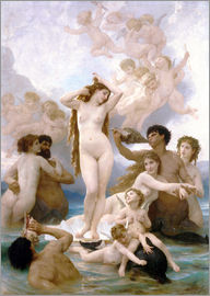 William Adolphe Bouguereau - Birth of Venus