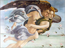 Sandro Botticelli - Birth of Venus, Angels