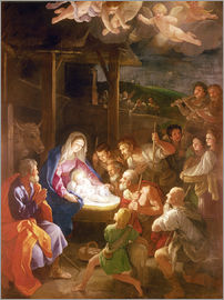 Guido Reni - The Nativity at Night
