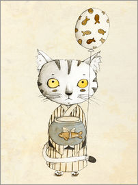Judith Loske - Birthday Cat