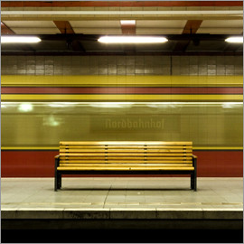 CAPTAIN SILVA - Ghosttrain - Tubestation - Nordbahnhof Berlin