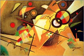 Wassily Kandinsky - Yellow lace