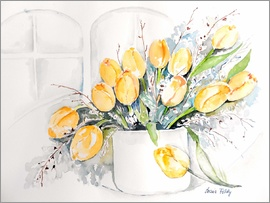 Maria Földy - yellow tulips