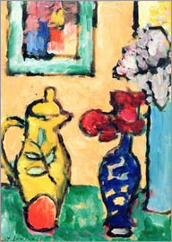 Alexej von Jawlensky - Yellow Pitcher
