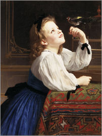 William Adolphe Bouguereau - Beloved Bird